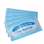 Generic Dental Clean Pre/Post Whitening Finger Teeth Wipes Brush Ups-50 PCS