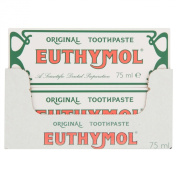 EUTHYMOL ORIGINAL TOOTHPASTE TUBE 75ML JOHNSONS x12
