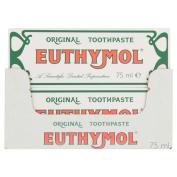 EUTHYMOL ORIGINAL TOOTHPASTE TUBE 75ML JOHNSONS x12