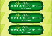 Dabur Herbal Toothpaste Neem 100ml x 3 Packs