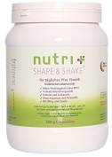 Nutri-Plus Shape & Shake Cappuccino 500g - With Whey and Caffeine - Definition & Lean Weight Loss Shake - Without aspartame