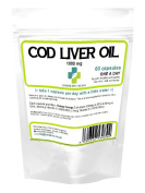 Cod Liver Oil 60 x High Strenth 1000mg Capsules