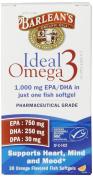 Barlean's Organic Oils Ideal Omega 3 Orange 30 sgels