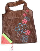 EJY Strawberry Folding Fold Up Reusable Compact Eco periodic duty Recycling use Shopping Bag