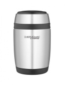 Thermos 400 ml Stainless Steel Curved Food Flask with Spoon