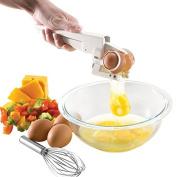 HeroNeo® EZ Egg Cracker Handheld York + White Separator Kitchen Gadget Baking Tool