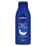 Nivea Body Rich Nourishing Moisturiser - 400 ml, Pack of 3