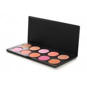 10 Piece Professional Blush Palette
