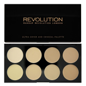 MAKEUP REVOLUTION - Ultra Cover and Conceal Palette - Light
