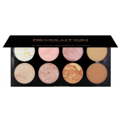 Makeup Revolution Ultra Blush and Contour Palette Golden Sugar