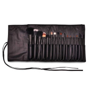 LaRoc 16 Pieces Makeup Brush Cosmetic Set Kit Eyeshadow Foundation Powder Blush Eye