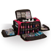 Beauty Bags Imperial Pink Mobile Glamour ToolBag Beautician Cosmetics Case