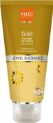 Vlcc Natural Science Gold Polishing Face Scrub Jewel Radiance With Gold Leaf 80g