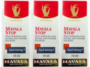 3 Pack of Mavala Stop Nail Biting and Thumb Sucking 0.3oz/10ml, Mavala Switzerland, Best Value