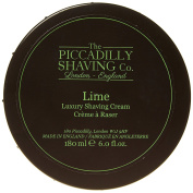 Piccadilly Lime Shaving Cream Bowl 180g