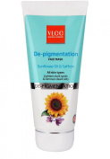 Vlcc De-Pigmentation Face Mask with Sunflower Oil & Saffron All Skin Types 80 gm