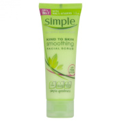 Simple Kind To Skin (Pack Of 2) Smoothing Facial Scrub X 75ml