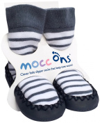 Mocc Ons Cute Moccasin Style Slipper Socks