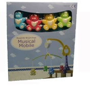 Beautiful Beginnings Durable Plastic Bear Musical Mobile