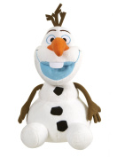 Ani Mei 25cm Plush Frozen Olaf Snowman Light & Sound