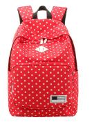 SAIERLONG Women's And Girl's Backpack School bag travel bag Oxford