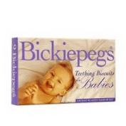 THREE PACKS of Bickiepegs Teething Biscuits