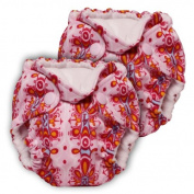 Lil Joey 2 Pack All-in-One Cloth Nappy, Lux