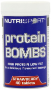 Nutrisport Protein Bombs Strawberry 40 + 40