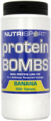 Nutrisport Protein Bombs Banana Tablets Pack of 200