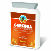 NutriBurn Pure Garcinia Cambogia Complex Food Supplements - Strongest Available 500mg Containing Green Tea, Cayenne, Yerba and Guarana to help Maintain a Healthy Weight - Pack of 60 Capsules
