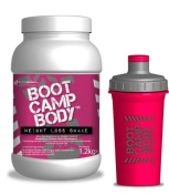 Diet Shakes For Women, Strawberry Meal Replacement Shake with Shaker Bottle