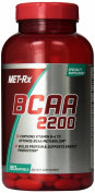 Met-RX Hardcore BCAA 2200 180 sgels