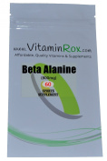 Beta Alanine [800mg] - 60 Tablet Resealable Foil Pack | Sport Supplement