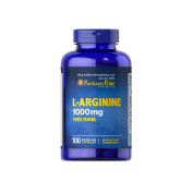 Puritan's Pride L-Arginine 1000mg Free form 100 capsules - Circulatory Health