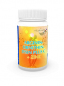 Arginine ornithine lysine + Vitamin C & zinc 60 Capsules Vita World German pharmacy production