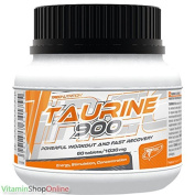 TAURINE 900 POWERFULL 60caps WORKOUT AND RECOVERY FORMULA TREC NUTRITION FREE P & P