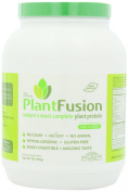 PlantFusion Complete Plant Based Protein Powder, Natural Unflavored, 22g Protein, 30 Servings, 2lb Tub