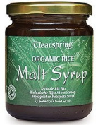 Clearspring Organic Rice Malt Syrup 330g - CLS-MR101