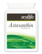 Astaxanthin 4mg 2x60 Soft Gels Capsules.