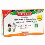 Super Diet Organic Quatuor Liver Well-Being 20 Phials