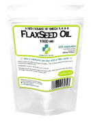 Flaxseed Oil 1000mg /100 Capsules