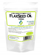 Flaxseed Oil 1000mg / 60 Capsules