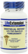 Life Extension Endothelial Defence with Full-spectrum Pomegranate Softgel, 60-Count
