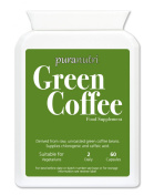 PURANUTRI Pure Green Coffee Extract 5000mg. Slimming; Diet; Weight Loss; | UK Made |Suitable for Vegetarians.