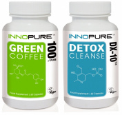 Pure Green Coffee Bean & DX-10® Detox Cleanse Duo Pack | 1 Month Supply.