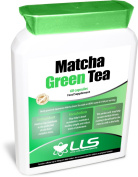 LOVE LIFE Japanese Matcha Green Tea | Powerful Anti-Oxidant Which Protects The Cells From Oxidative Stress And Helps Maintain A Healthy Weight | 60 Capsules | Premium GMP Supplement