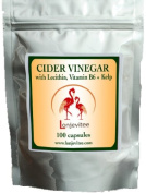 Lonjevitee Cider Vinegar With Lecithin, Vit B And Kelp 100 Softgel Capsules Container Type