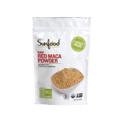 Sunfood Nutrient-Rich Red Maca Powder 240ml