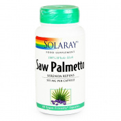 Solaray 550 mg Saw Palmetto Capsule - Pack of 60