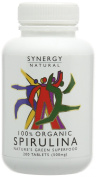 Synergy Natural Organic Spirulina - Pack of 200 Tablets